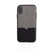Evutec: Northill Case with AFIX+ for iPhone X / XS - Canvas/Black