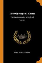 The Odysseys of Homer by Homer