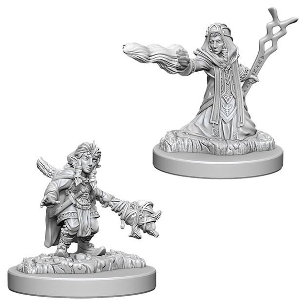 D&D Nolzurs Marvelous: Unpainted Miniatures - Female Gnome Wizard