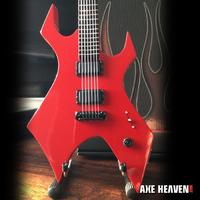 Axe Heaven: Miniature Replica - Mick Thompson Guitar (Red Warlock) image