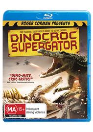 Dinocroc vs Supergator on Blu-ray