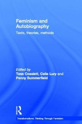 Feminism & Autobiography by Tess Coslett image