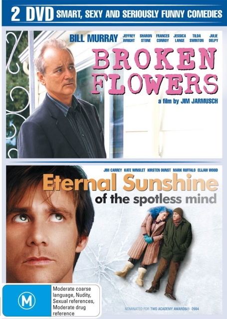 Broken Flowers / Eternal Sunshine Of The Spotless Mind (2 Disc Set) on DVD