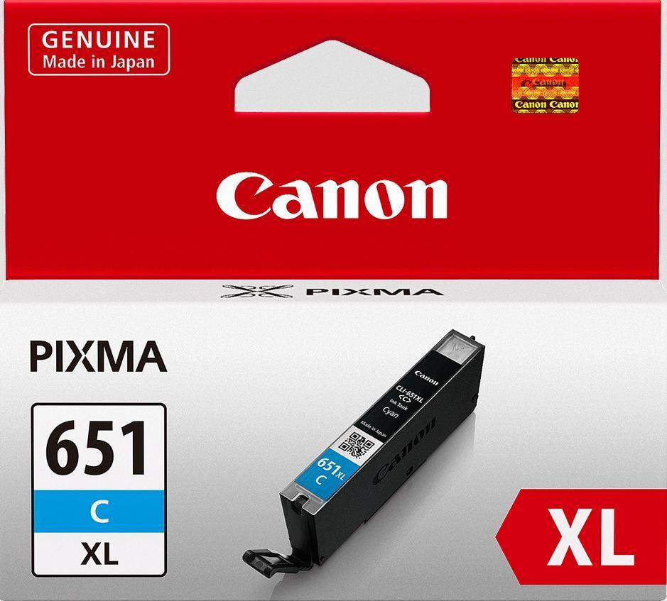 Canon Ink Cartridge - CLI651XLC (Cyan High Yield) image