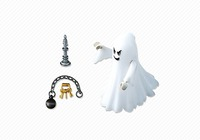 Playmobil: Castle Ghost with Rainbow LED (6042)