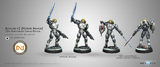 Infinity: Aleph - Achilles v2 (Hoplite Armour) 10th Anniversary Limited Edition