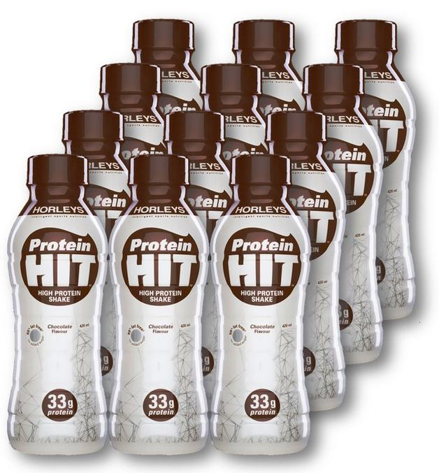 Horleys Protein Hit - Chocolate (Box of 12)