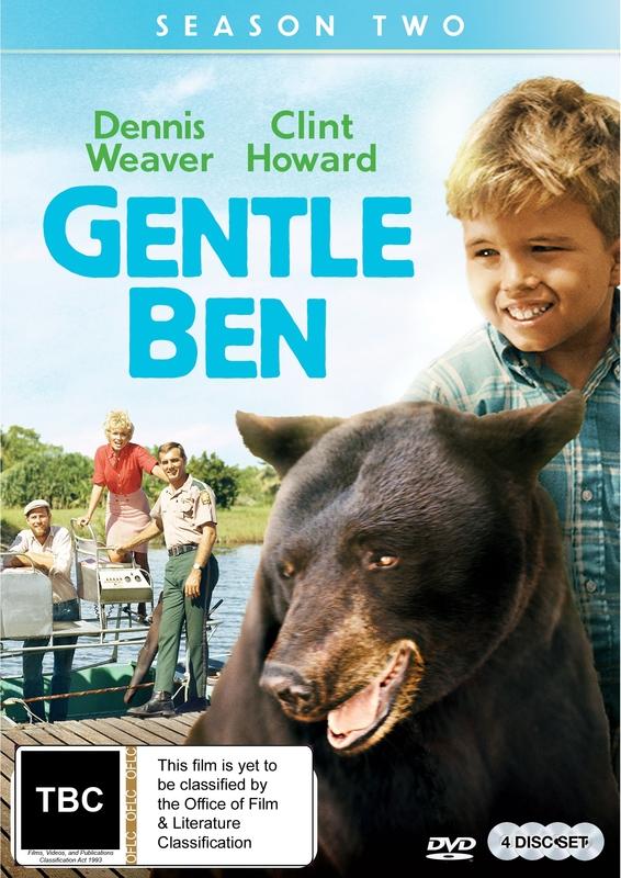Gentle Ben Season Two on DVD