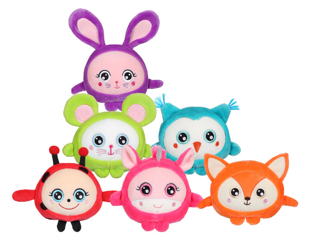 "Squishimals - 12"" Super Soft Plush - (Assorted Designs)"