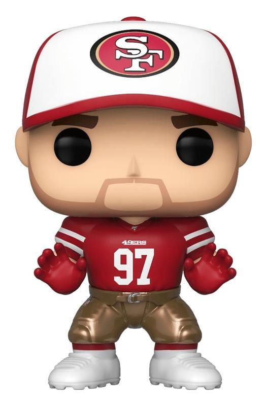 NFL: 49ers - Nick Bosa Home Jersey Pop! Vinyl Figure