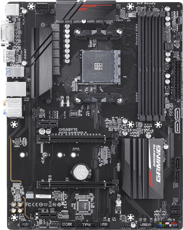 Gigabyte B450 Gaming X ATX Motherboard