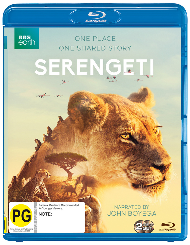 Serengeti on Blu-ray