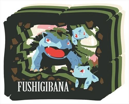 Pokemon: Paper Theater: Venusaur