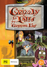 Grizzly Tales For Gruesome Kids - Series 5 And 6 (2 Disc Set) on DVD
