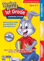 Reader Rabbit 1st Grade Learning System for PC