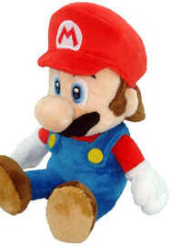 "Super Mario Bros. Mario 8"" Plush"