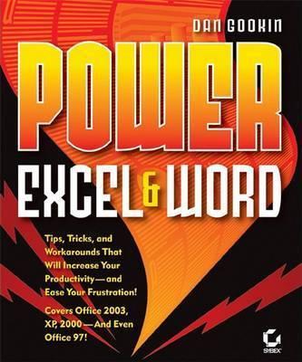 Power Excel and Word by Dan Gookin