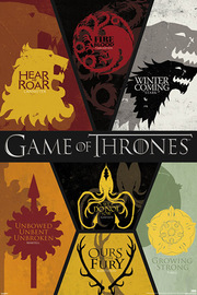 Game of Thrones Sigils Wall Poster (103)