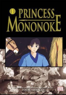 Princess Mononoke Film Comic, Vol. 1 by Hayao Miyazaki