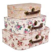 Sass & Belle: Vintage Rose - Suitcase Set