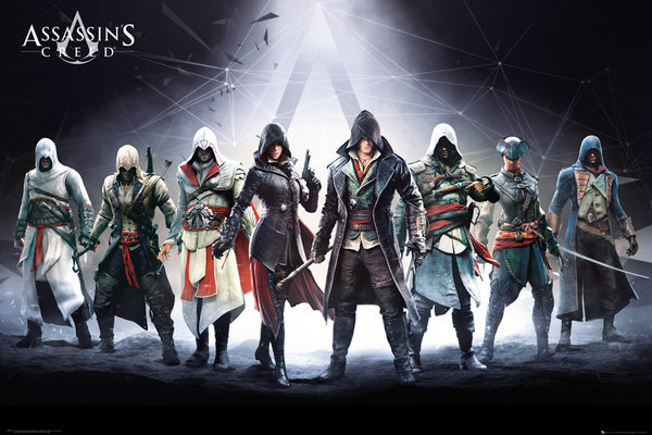 Assassin's Creed Maxi Poster - Characters (538)