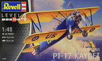 Revell 1:48 Stearman PT-17 Kaydet Model Kit