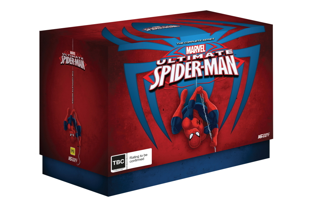 Ultimate Spider-Man - Complete Series Collection on DVD image