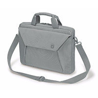 """Dicota Slim Case EDGE Carry bag with shoulder strap for 12.1"""" - 13.3"""" Notebook /Laptop (Grey)"""