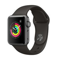 Apple Watch Series 3 GPS with Grey Sport Band - Space Grey Aluminium Case (38mm)