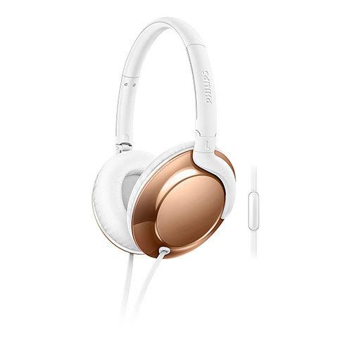 Philips: Over ear Flite Headphones - Gold