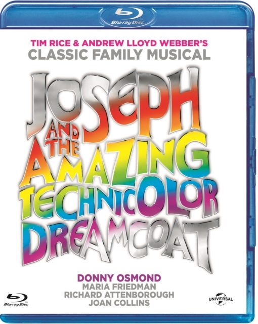 Joseph and the Amazing Technicolor Dreamcoat on Blu-ray