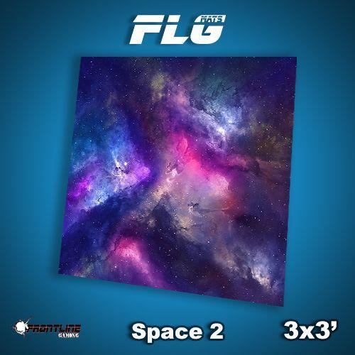 FLG Space #2 Neoprene Gaming Mat (3x3)