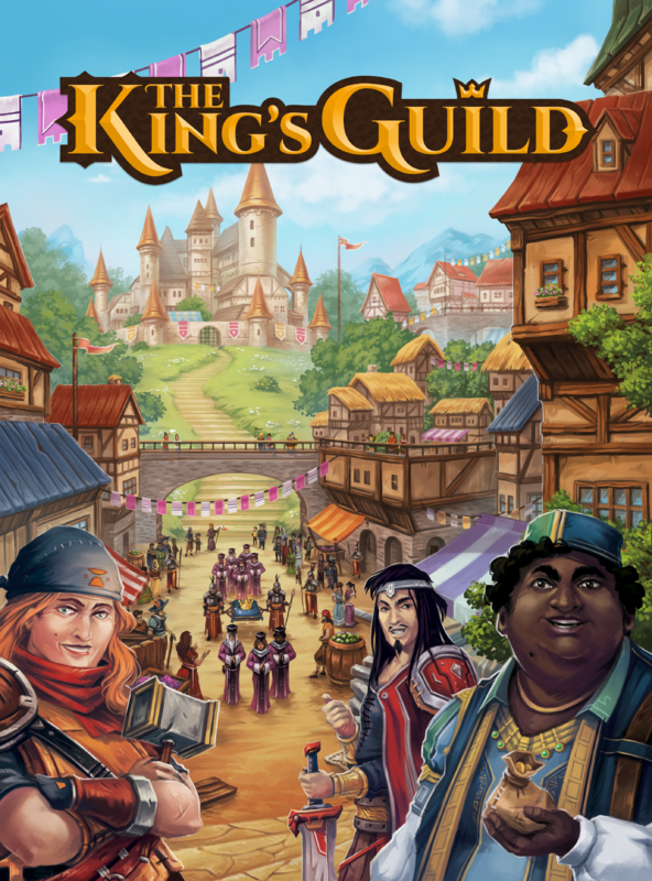 The King's Guild - Board Game