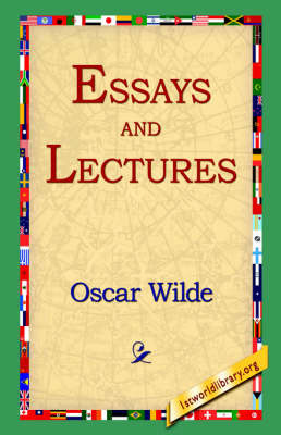 Essays and Lectures by Oscar Wilde image