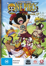 One Piece (Uncut) Collection 17 on DVD
