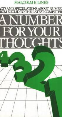 A Number for your Thoughts by M.E. Lines