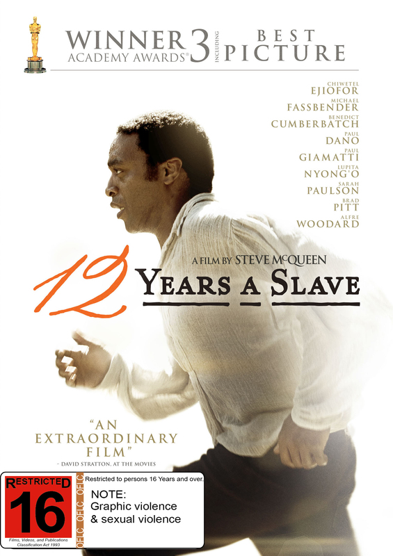 12 Years a Slave on DVD