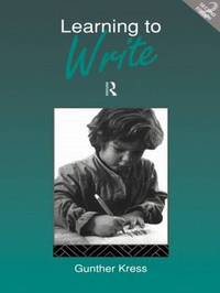 Learning to Write by Gunther Kress image