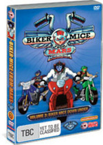 Biker Mice From Mars (2006) - Vol. 3: Biker Mice Down Under on DVD