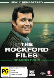 The Rockford Files: The Complete Season 4 on DVD