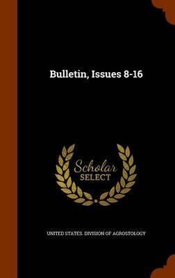 Bulletin, Issues 8-16