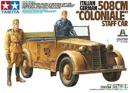 Tamiya: 1/35 508cm Coloniale Staff Car - Model Kit