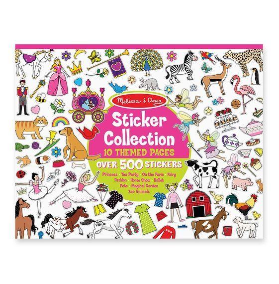 Melissa & Doug: Sticker Collection Pink 700+ image