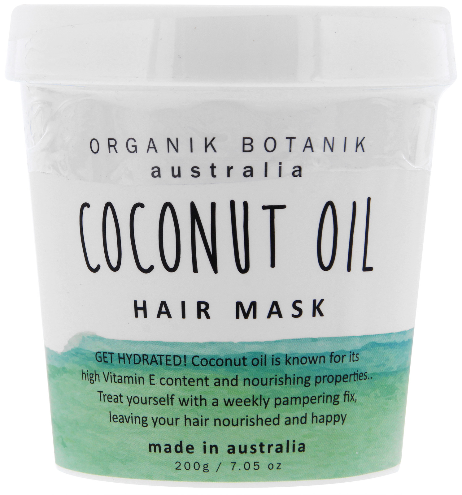 Organik Botanik Hair Mask - Coconut Oil (200gm) image