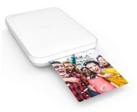 Lifeprint: 3x4.5 Portable Photo AND Video Printer for iPhone and Android - White