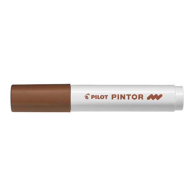 Pilot: Pintor Medium Marker - Brown