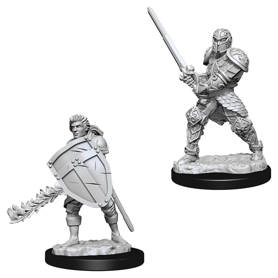 D&D Nolzur's Marvelous: Unpainted Miniatures - Male Human Fighter image