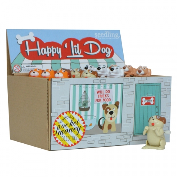 Seedling: Happy Lil' Dog - Wind-Up Toy (Assorted Designs)
