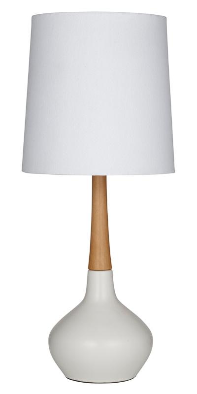 Amalfi: Elke Table Lamp (25x25x59cm)