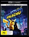 Detective Pikachu on UHD Blu-ray